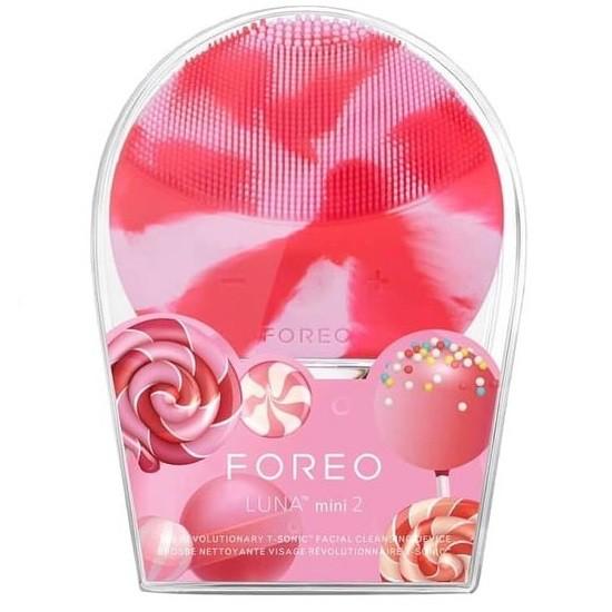 Máy rửa mặt FOREO Luna MIni 2 Lollipop Pink( Tặng kèm set wonjin)