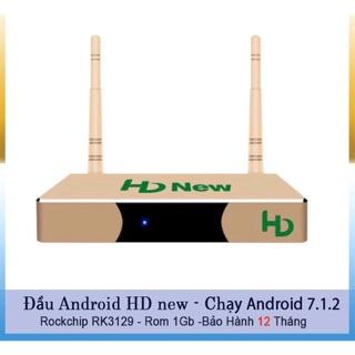 Đầu Box TV android HD new - hệ điều hành 7.1.2