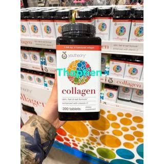 Viên Uống Youtheory Collagen 390 Viên collagen Type 1,2&3 - Mẫu mới thumbnail