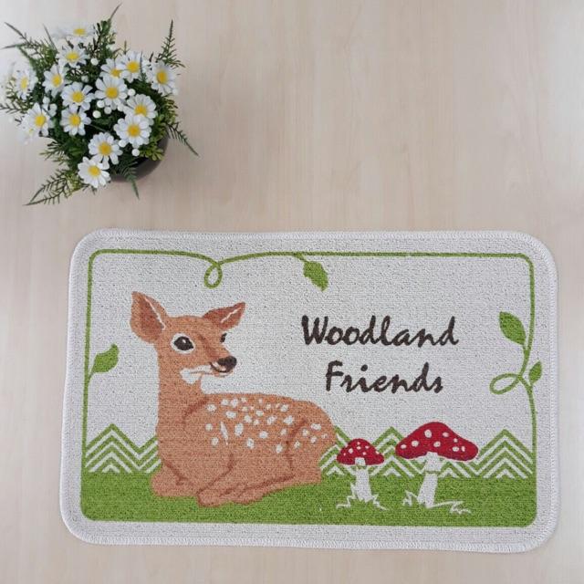 Thảm chùi chân ACQ woodland friends hình con hươu nai loại thấm hút tốt hàng công ty chất lượng cao - 3524285 , 873935928 , 322_873935928 , 108000 , Tham-chui-chan-ACQ-woodland-friends-hinh-con-huou-nai-loai-tham-hut-tot-hang-cong-ty-chat-luong-cao-322_873935928 , shopee.vn , Thảm chùi chân ACQ woodland friends hình con hươu nai loại thấm hút tốt hàn