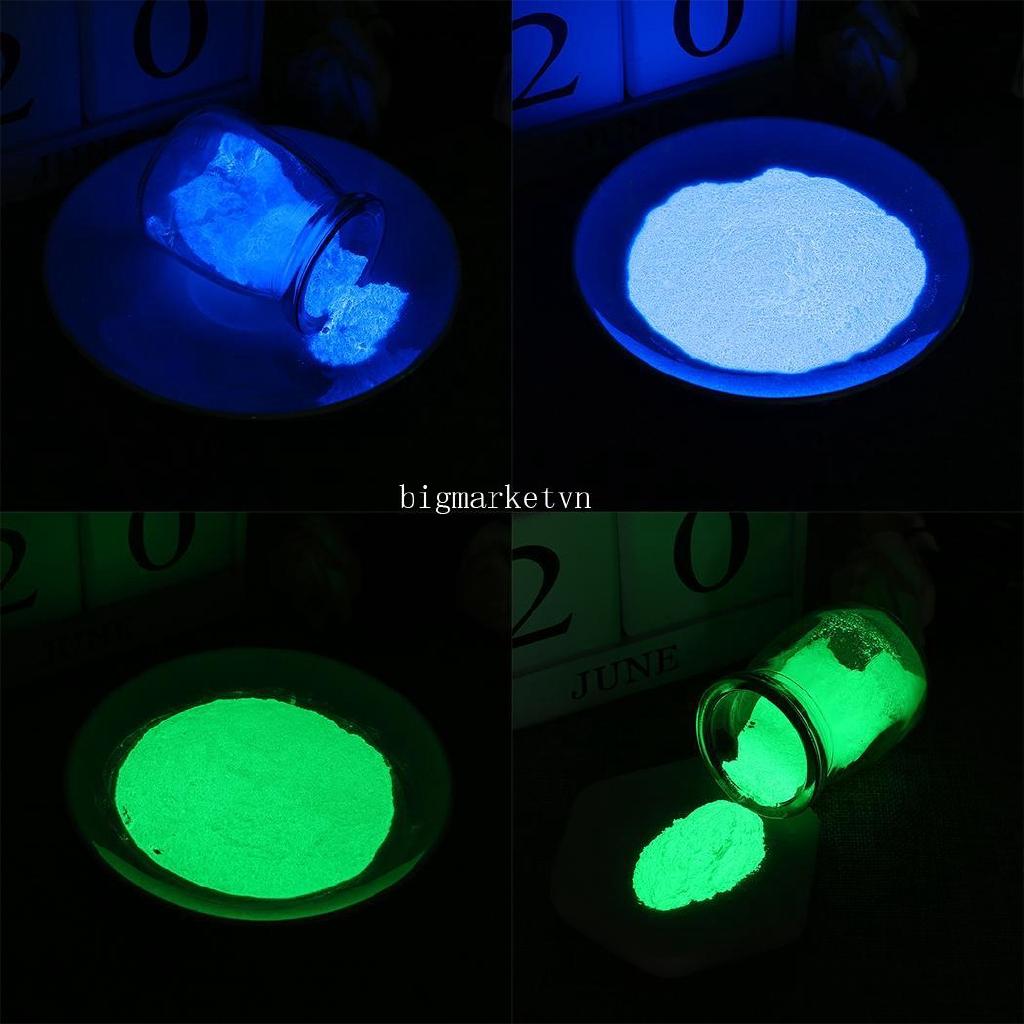 ❤bi❤ High Brightness Phosphor Luminous Powder Nail Decoration Powder