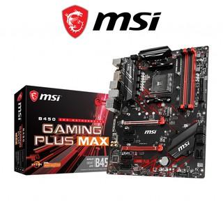 Bo mạch chủ Mainboard MSI B450 GAMMING PLUS MAX AMD B450, Socket AM4, m-ATX, 4 khe RAM DDR4 thumbnail