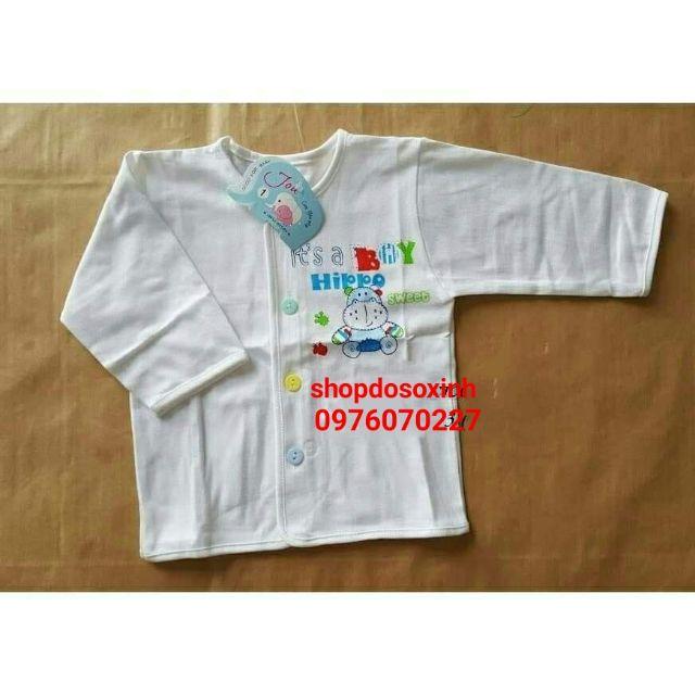 Áo cotton cao cấp cho bé sơ sinh-10kg