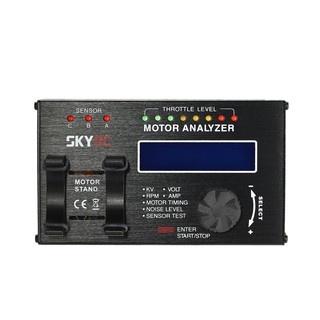 SkyRC BMA-01 RC Car Brushless Motor Analyzer RPM KV Voltage Timing Motolyzer