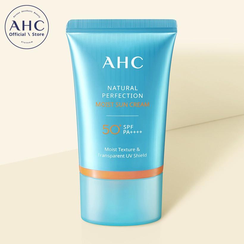 Kem chống nắng dưỡng ẩm AHC Natural Perfection 50ml