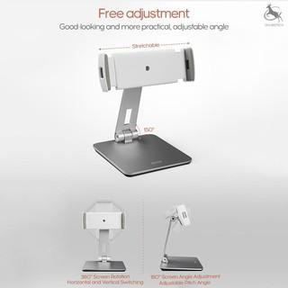 ☆COD BOOX Adjustable Multi-Angle Stand Desktop Stand Holder for Tab-lets Dock Cradle