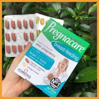 [100% Hàng Auth ] Vitamin Pregnacare Breast feeding Viên Uống Lợi Sữa Bổ Sung Vitamin Tổng Hợp Sau Sinh 3