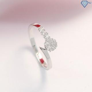 Nhẫn nữ bạc 925 đẹp đính đá giá rẻ NN0225 - Trang Sức TNJ
