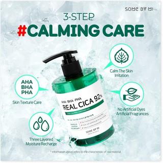 Gel Dưỡng Ẩm và Làm Dịu Da Some By Mi AHA-BHA-PHA Real Cica 92% Cool Calming Soothing Gel 300ml thumbnail