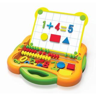Đồ chơi giáo dục – bộ bảng học chữ số, hình học, con tính