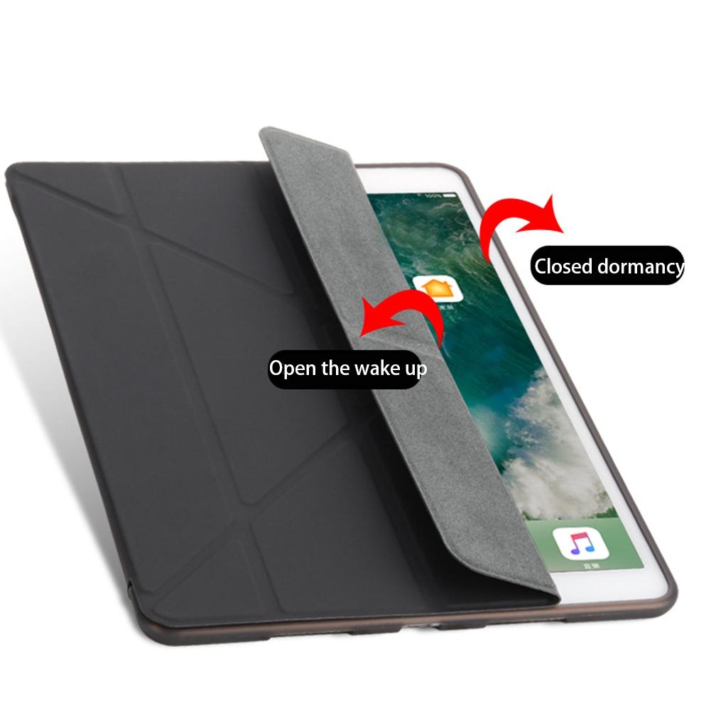 Auto Protective Case Desktop Sleep Smart Wakeup Lightweight Bracket Anti Scratch Soft TPU For IPad Pro 9.7/10.5