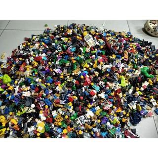 Combo 100gam Xác Nhân vật non Lego Minifigures ( ĐÃ QUA SỬ DỤNG ) thumbnail