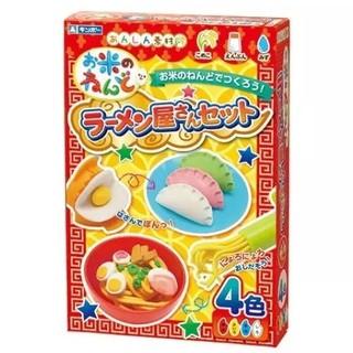 """Bộ đồ chơi đất nặn bằng bột gạo mẫu """"Tạo hình Mỳ Ý, sủi cảo"""" GINCHO (Hàng nội địa Nhật)"""