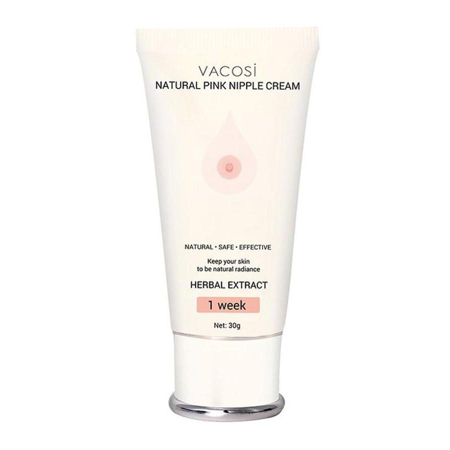 Kem Làm Hồng Nhủ Hoa Vacosi Natural Pink Nipple Cream Hàn Quốc