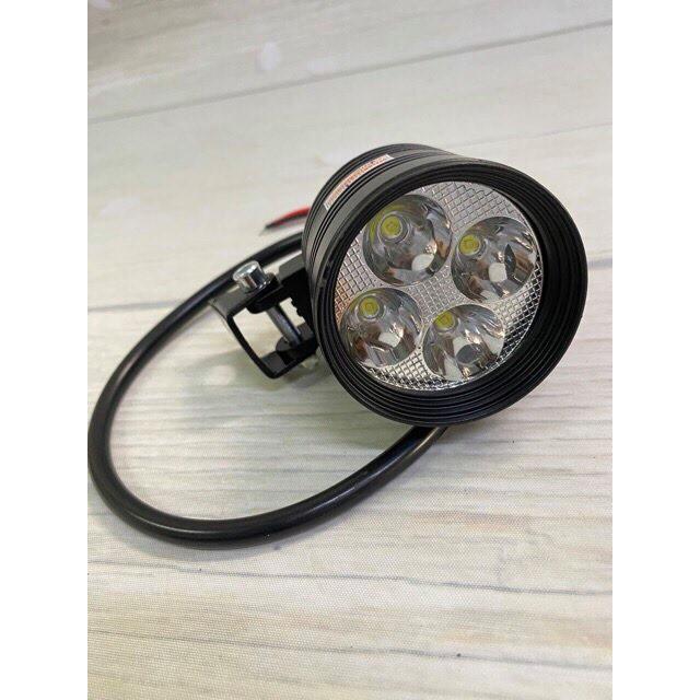 Đèn LED trợ sáng L4 ngắn 12V - 20W (Tặng công tắc).