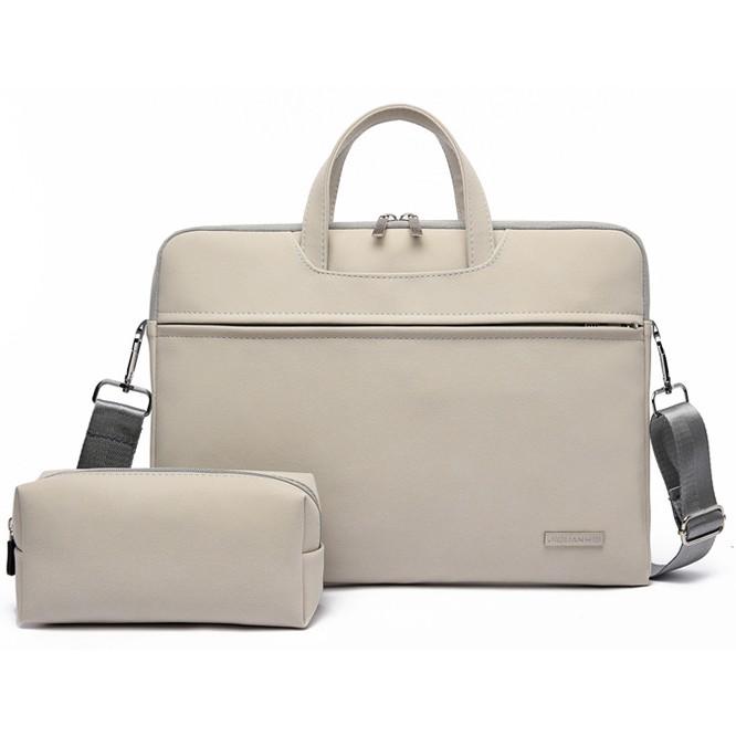 Túi chống sốc laptop, macbook 13inch, 14inch, 15.6inch da PU chống nước tặng kèm túi