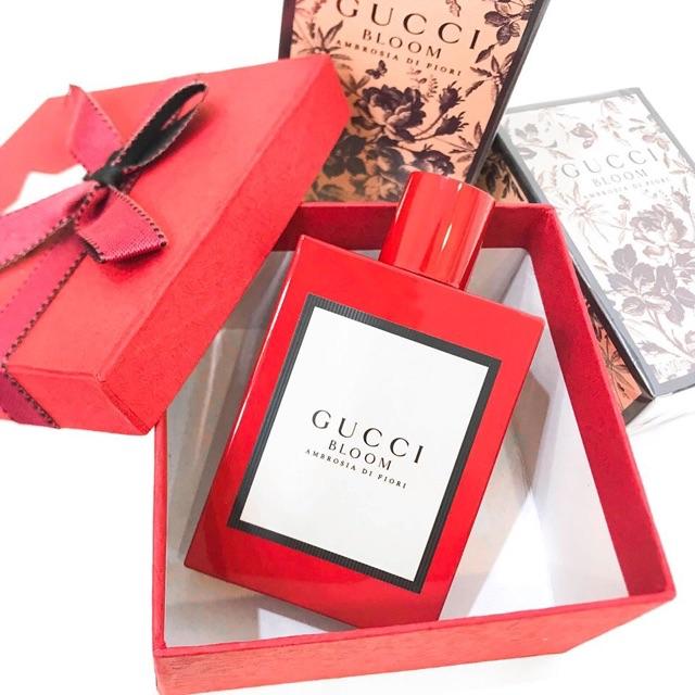 Mẫu thử nước hoa Gucci Bloom Ambrosia Di Fiori 2019 dạng xịt 10ml ...