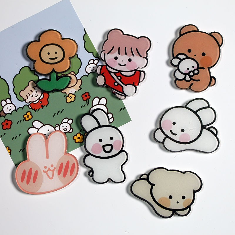 Huy hiệu balo, Pin cài áo Cartoon Badge Nhật Bản