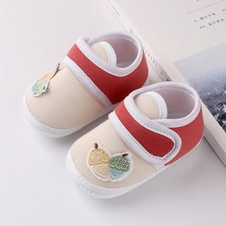 Giày tập đi cho bé FREESHIP có đế trống trượt, dép vải nhẹ nhàng chất mềm mại, HÀNG ĐẸP thumbnail