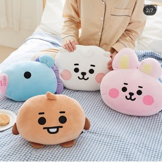 Gấu bông | Mochi face baby cushion BT21 Official