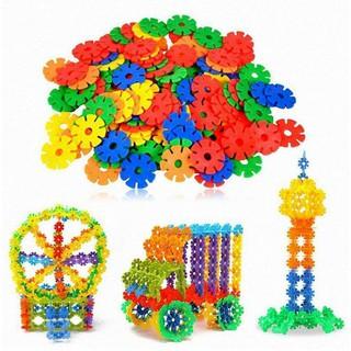 Bộ đồ chơi xếp hình trí tuệ bằng bông hoa cho bé