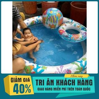 Mô hình bơi cho bé kèm bơm| HÀNG MỚI