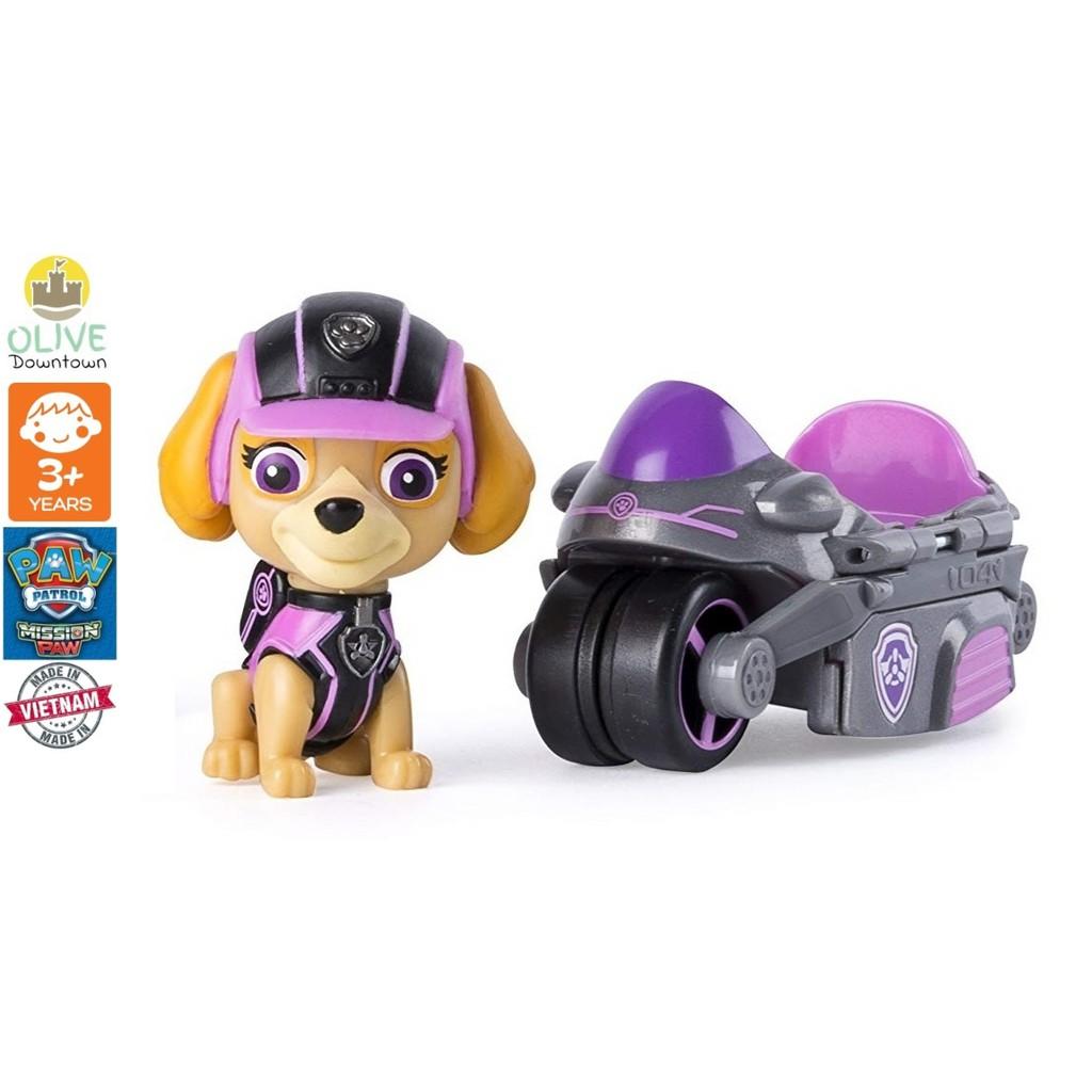[MP5] Bộ chó rời SKYE + tàu bay mini phim Những chú chó cứu hộ – Paw Patrol