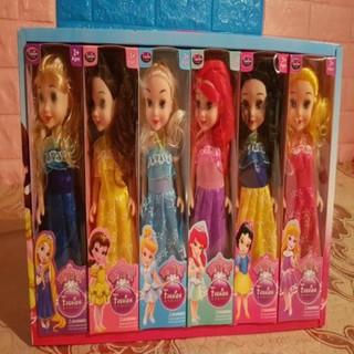 Bộ 6 búp bê đồ chơi cho bé