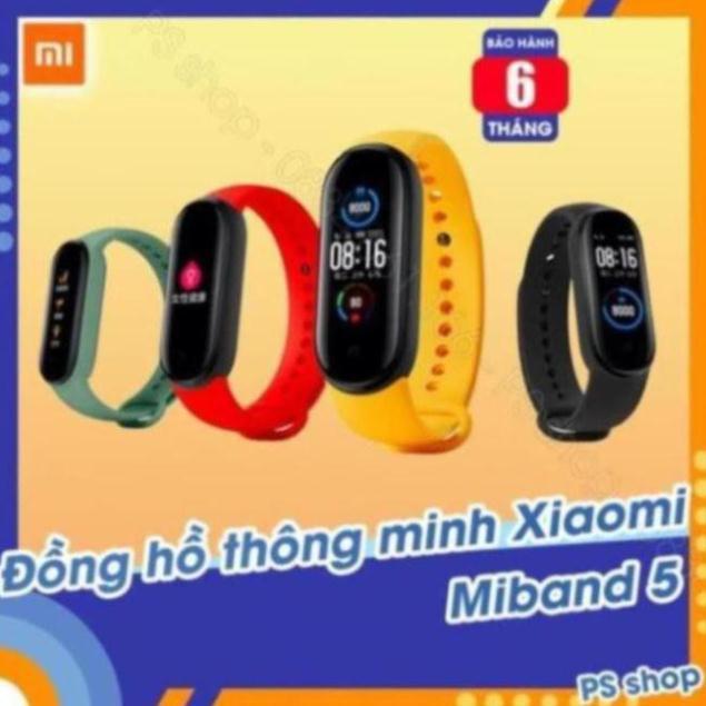 Vòng tay thông minh Xiaomi Mi Band 5 / Đồng hồ thông minh Miband 5 -  [ Bảo hành 6 tháng ] [SW1205] tuy994