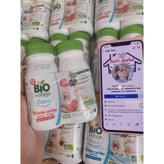 [ Date 2021] Sữa nước ngũ cốc bio village cho bé từ 6 tháng