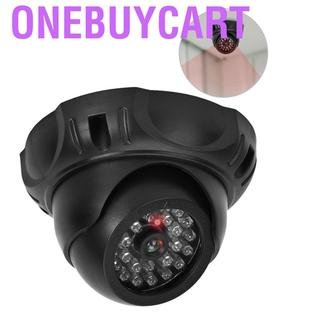 Onebuycart Câmera Falsa Manequim Monitor De Segurança Com Luz Led Preto
