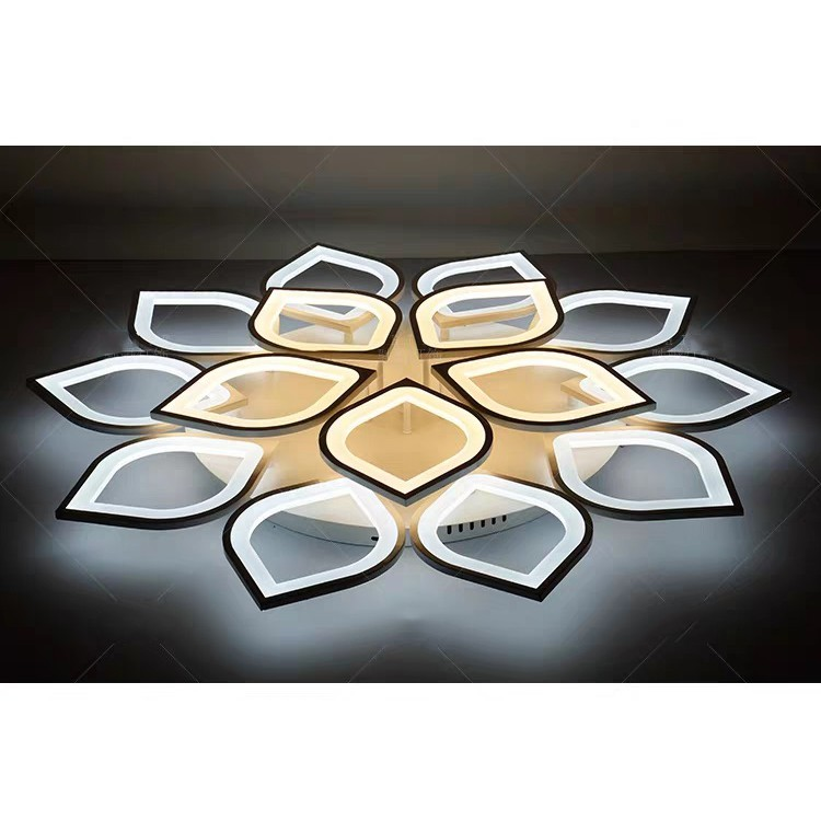Đèn Ốp Trần Đèn Led Ốp Nổi Trần Thạch Cao Siêu Sáng Mẫu V3/ TT3/ TT6 Trang Trí Phòng Khách Phòng Ngủ 3 Chế Độ Sáng Kèm Đ