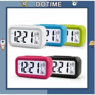 đồng hồ led để bàn đa chức năng tặng kèm 3 pin hiển thị giờ, ngày tháng, nhiệt độ, báo thức
