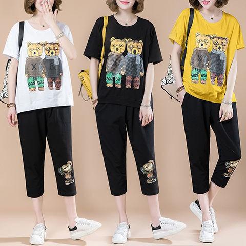 set đồ bộ ngắn tay phong cách năng động trẻ trung dành cho nữ - 14029813 , 2727888595 , 322_2727888595 , 194700 , set-do-bo-ngan-tay-phong-cach-nang-dong-tre-trung-danh-cho-nu-322_2727888595 , shopee.vn , set đồ bộ ngắn tay phong cách năng động trẻ trung dành cho nữ