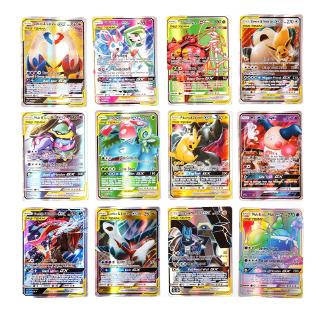 100pcs Pokemon Card Lot 100 OFFICIAL TCG Cards Ultra Rare Included – GX EX MEGA + HOLOS