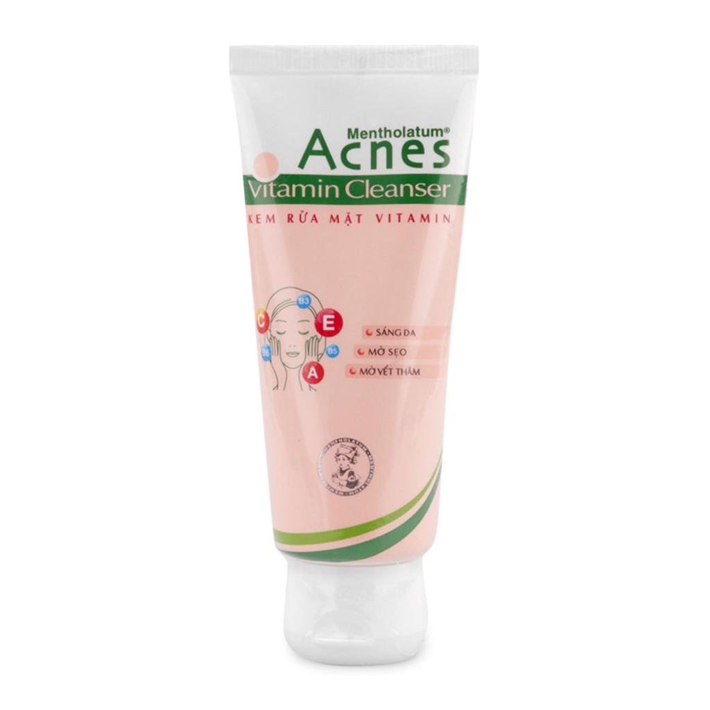 Kem rửa mặt Acnes Vitamin Cleanser 100g - 2503363 , 148146763 , 322_148146763 , 55000 , Kem-rua-mat-Acnes-Vitamin-Cleanser-100g-322_148146763 , shopee.vn , Kem rửa mặt Acnes Vitamin Cleanser 100g