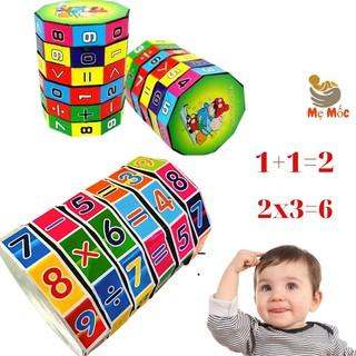Rubic Toán Học - Khối Rubic Thông Minh Cho bé Học Số, Phép Tính, Dấu, làm các phép Toán đơn giản [Shop Mẹ Mốc] thumbnail