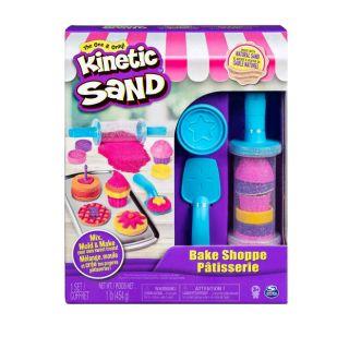 Cát động lực Kinetic sand bộ làm bánh