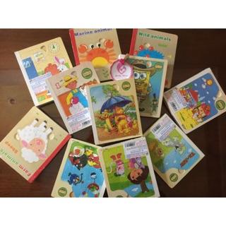 Sách ghép gỗ nhiều chủ đề – Hình thật – Kèm video