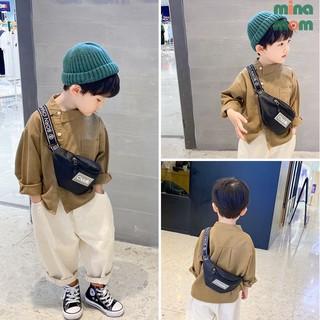 Túi đeo chéo cá tính cho bé trai Chaoliu túi bao tử siêu ngầu