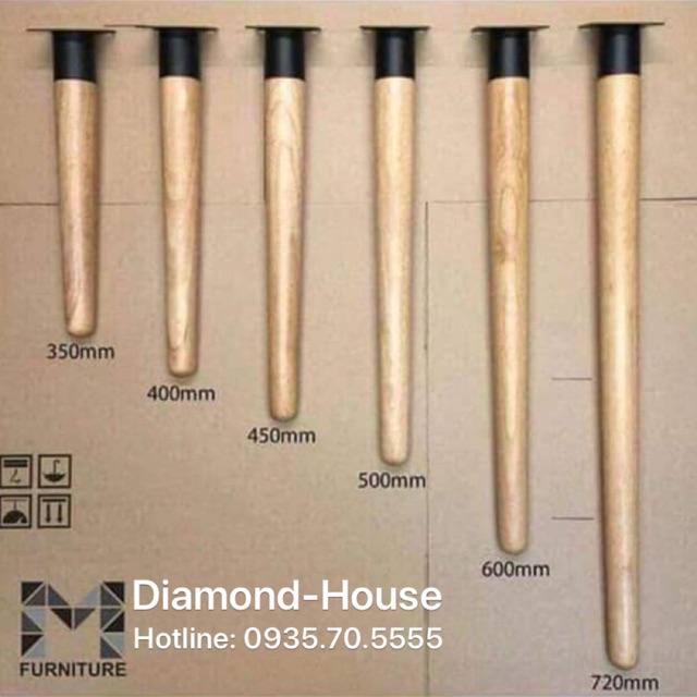 [XƯỞNG TIỆN] Chân bàn gỗ tần bì nhập khẩu tiện CNC kèm đế thép dạng ống lồng sơn tĩnh điện chịu lực cao.