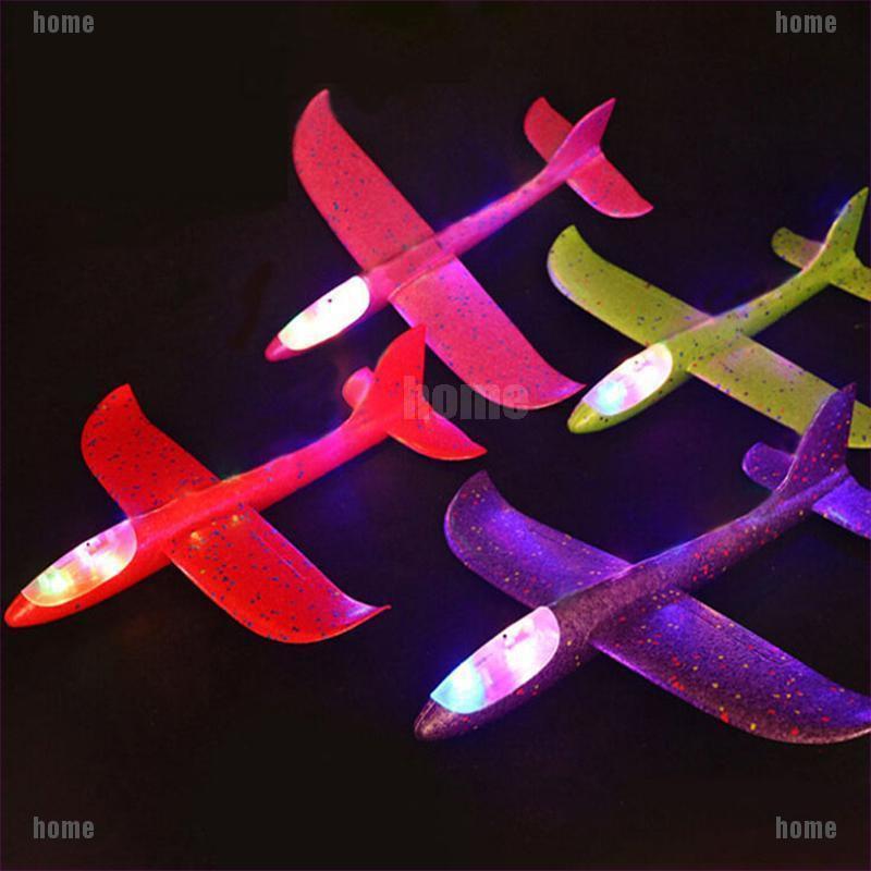 Đồ chơi máy bay ném 48cm có đèn led