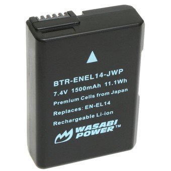 Pin WASABI EN-EL14 For Nikon D3200 D5300 D5500 P7800 - 22051625 , 7909624023 , 322_7909624023 , 450000 , Pin-WASABI-EN-EL14-For-Nikon-D3200-D5300-D5500-P7800-322_7909624023 , shopee.vn , Pin WASABI EN-EL14 For Nikon D3200 D5300 D5500 P7800