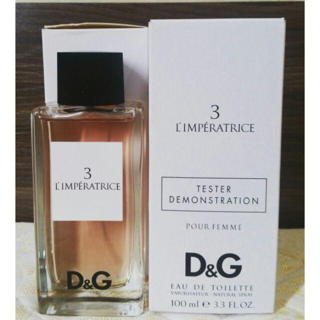 Chiết nước hoa D&G 3 L