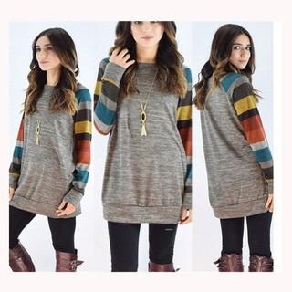 Sweater Lightweight Women Long Sleeve Cotton Knitted