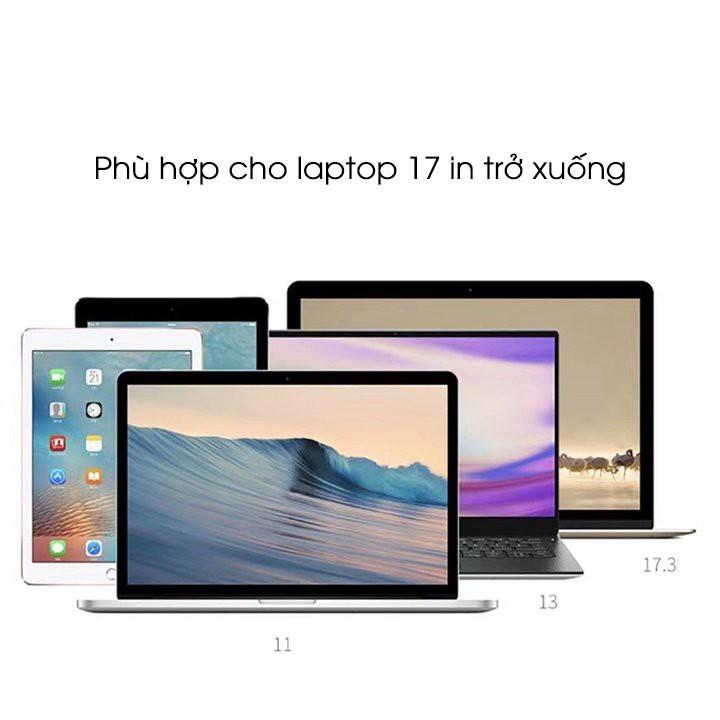 [VIDEO + ẢNH THẬT] Đế tản nhiệt Laptop, máy tính bảng, macbook. Tặng kèm túi đựng.