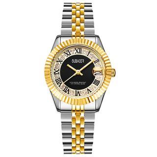 Đồng hồ Nữ OUBAOER LUXURY - Dây Demi siêu sang + Tặng Hộp & Pin