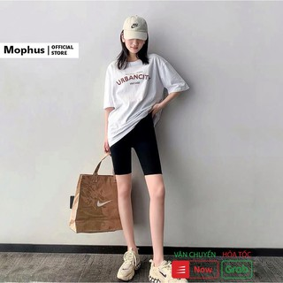 Quần legging lửng Mophus nữ vải thun co dãn cao cấp nâng mông dáng ôm - EQ001 thumbnail