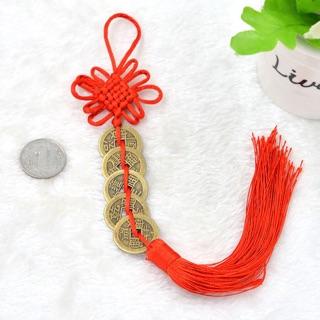 Dây đồng xu ngũ đế - vật phẩm phong thủy trang trí tết mang tài lộc may mắn cho năm mới - hình 3