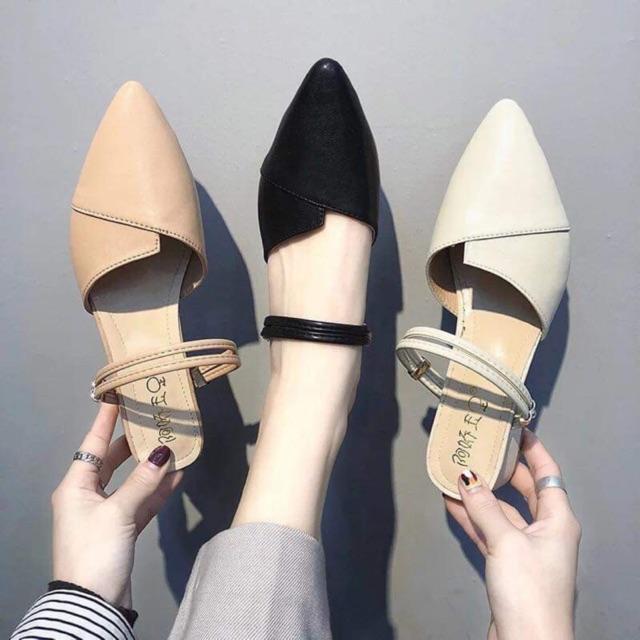 Giày sandal búp bê 3 in 1 (đi được 3 kiểu) siêu xinh